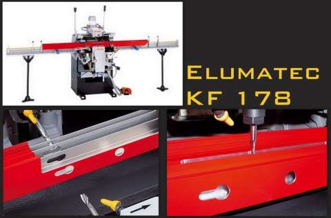Elumatec KF 178 Door Router - #2995