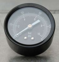 Air Oil Pressure Gauge 1/8