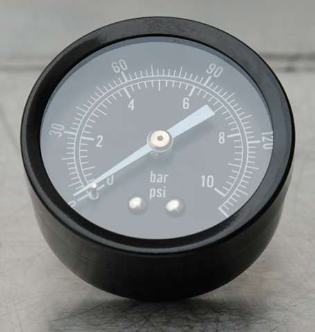 Air Oil Pressure Gauge 1/4