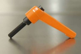 MALE M10 x 50mm Adjustable Handle ORANGE