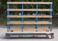 10 x A Frame Trolleys 2.3m Wide with Handle