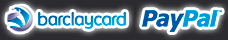 We use Barclaycard and PayPal gateways